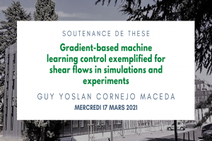 Gradient-based machine learning control exemplified for shear flows in simulations and experiments