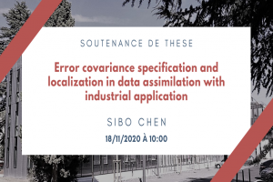Error covariance specification and localization in data assimilation with industrial application