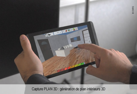 Plan 3D legende